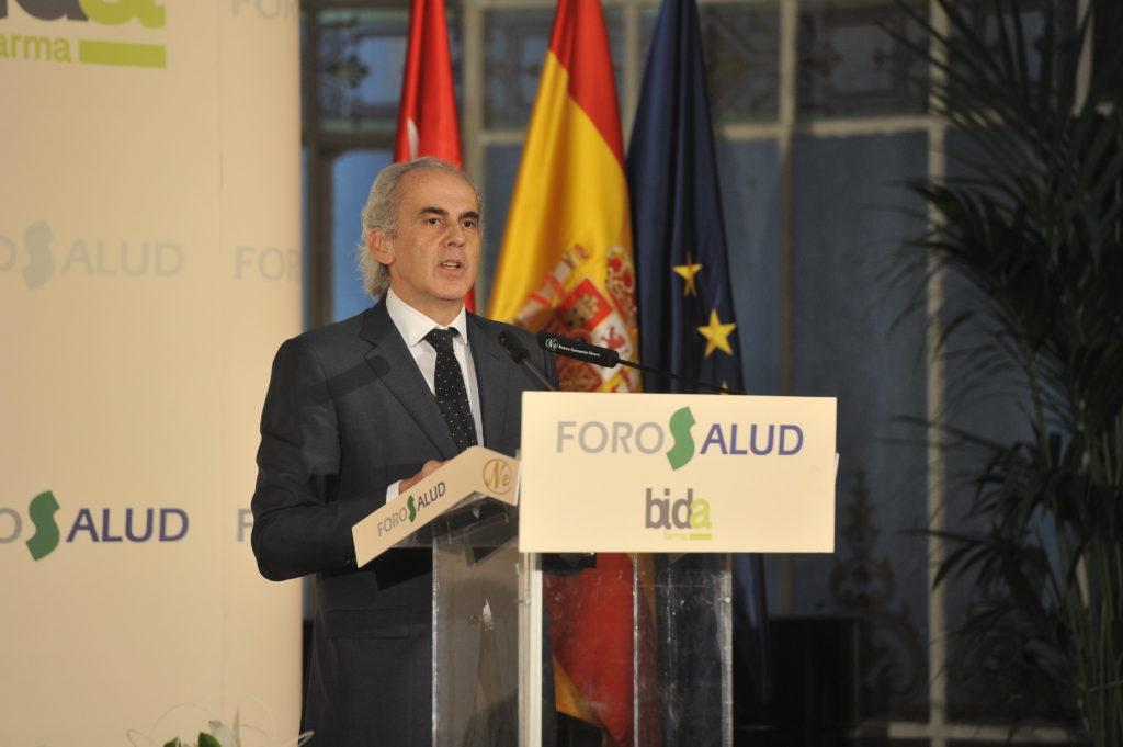 Ruiz Escudero, consejero de Sanidad de la Comunidad de Madrid