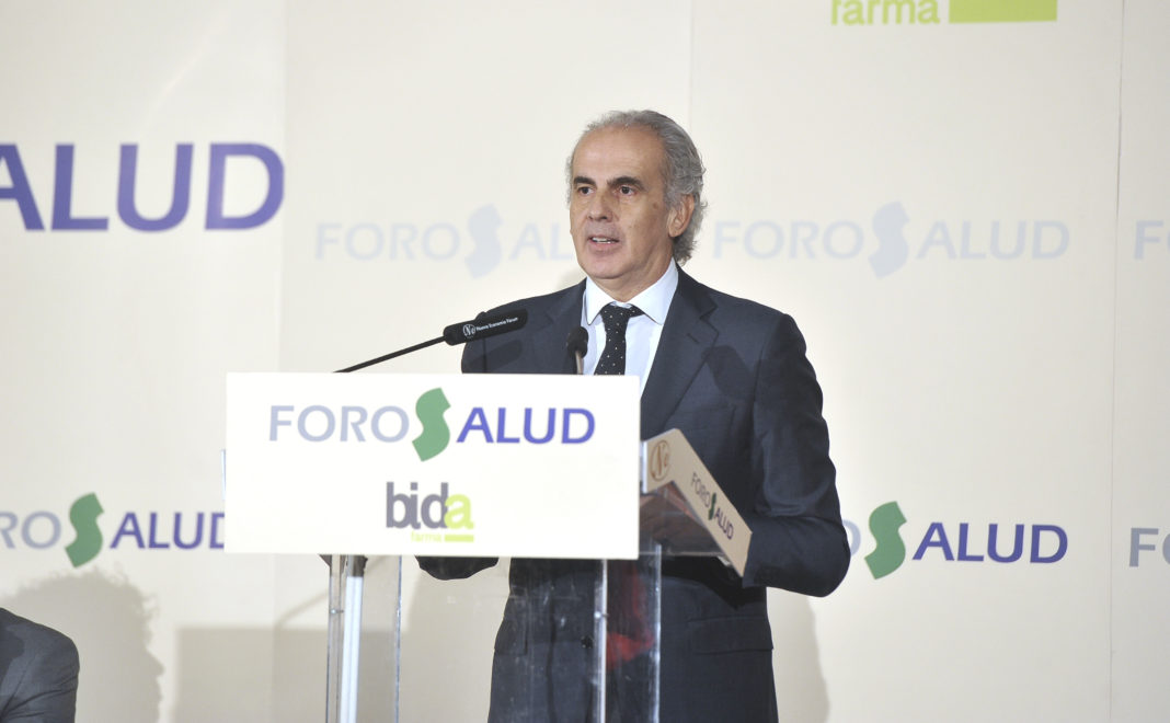 Enrique Ruiz Escudero, consejero de Sanidad de la Comunidad de Madrid