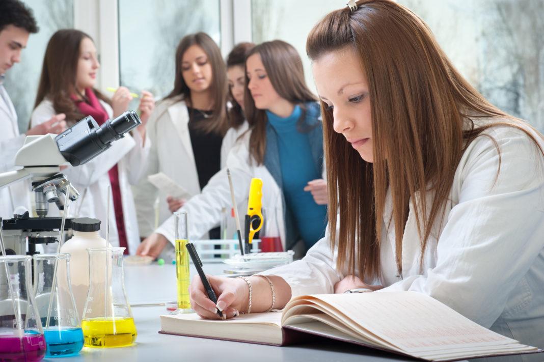 Estudiante de medicina, foto de recurso