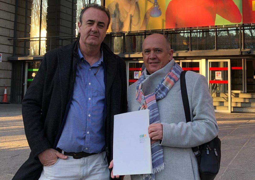 Víctor Pedrera y Gabriel del Pozo, CESM