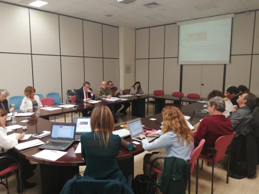 Una de las sesiones de orientación estratégica para definir las líneas que estructurarán el Plan de Humanización del SSPA