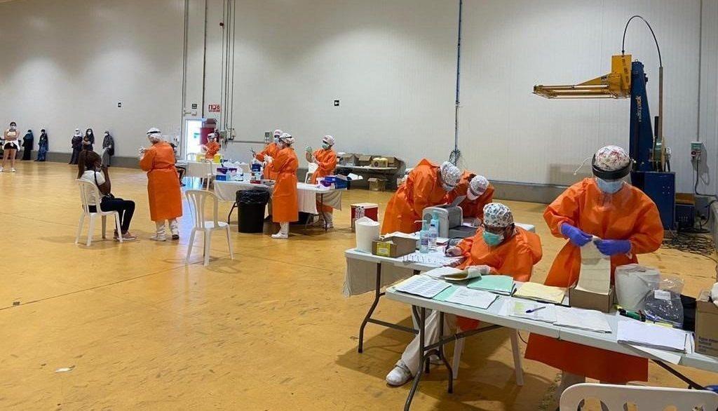 Las pruebas PCR realizadas en una empresa hortofrutícola del Bajo Cinca que ha registrado un brote - GOBIERNO DE ARAGÓN