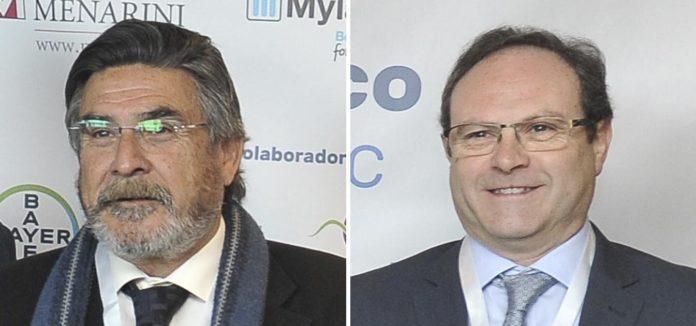 José Luis Llisterri, presidente de Semergen, y Jesús Gómez, presidente de Sefac.