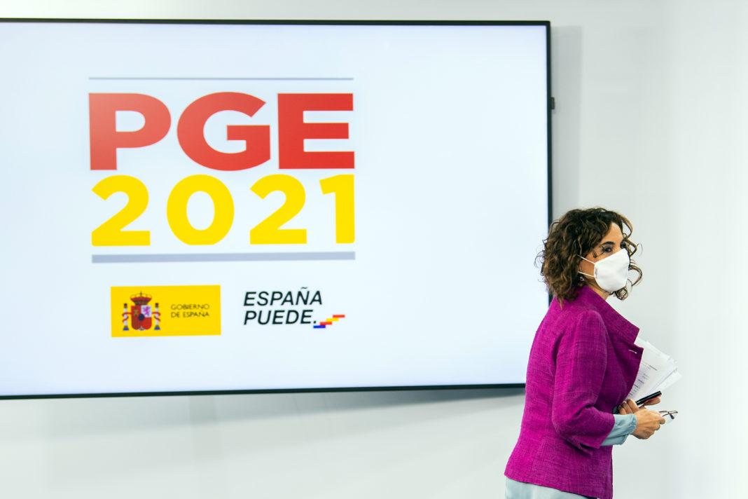 María Jesús Montero_Presupuestos Generales 2021