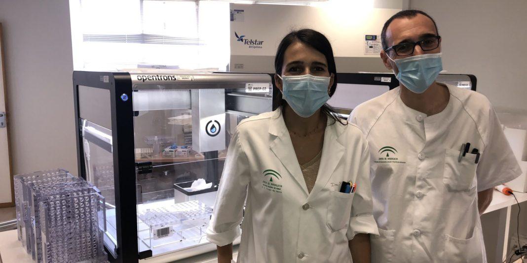 Plataforma PCR robotizada del Hospital Virgen del Rocío