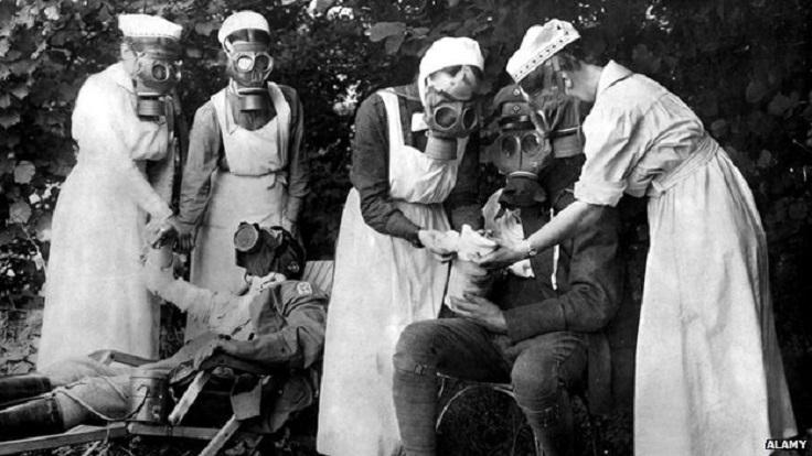 Enfermeras en la I Guerra Mundial