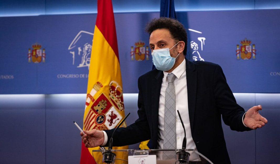 Edmundo Bal, portavoz adjunto del Grupo Parlamentario Ciudadanos