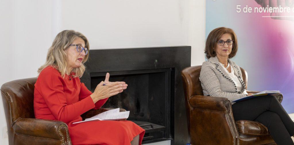 Paloma Casado y Ana Polanco