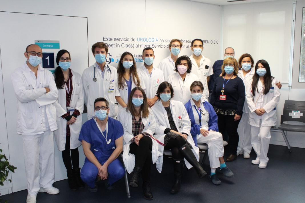 Servicio de Urología del Hospital Universitario Fundación Jiménez Díaz