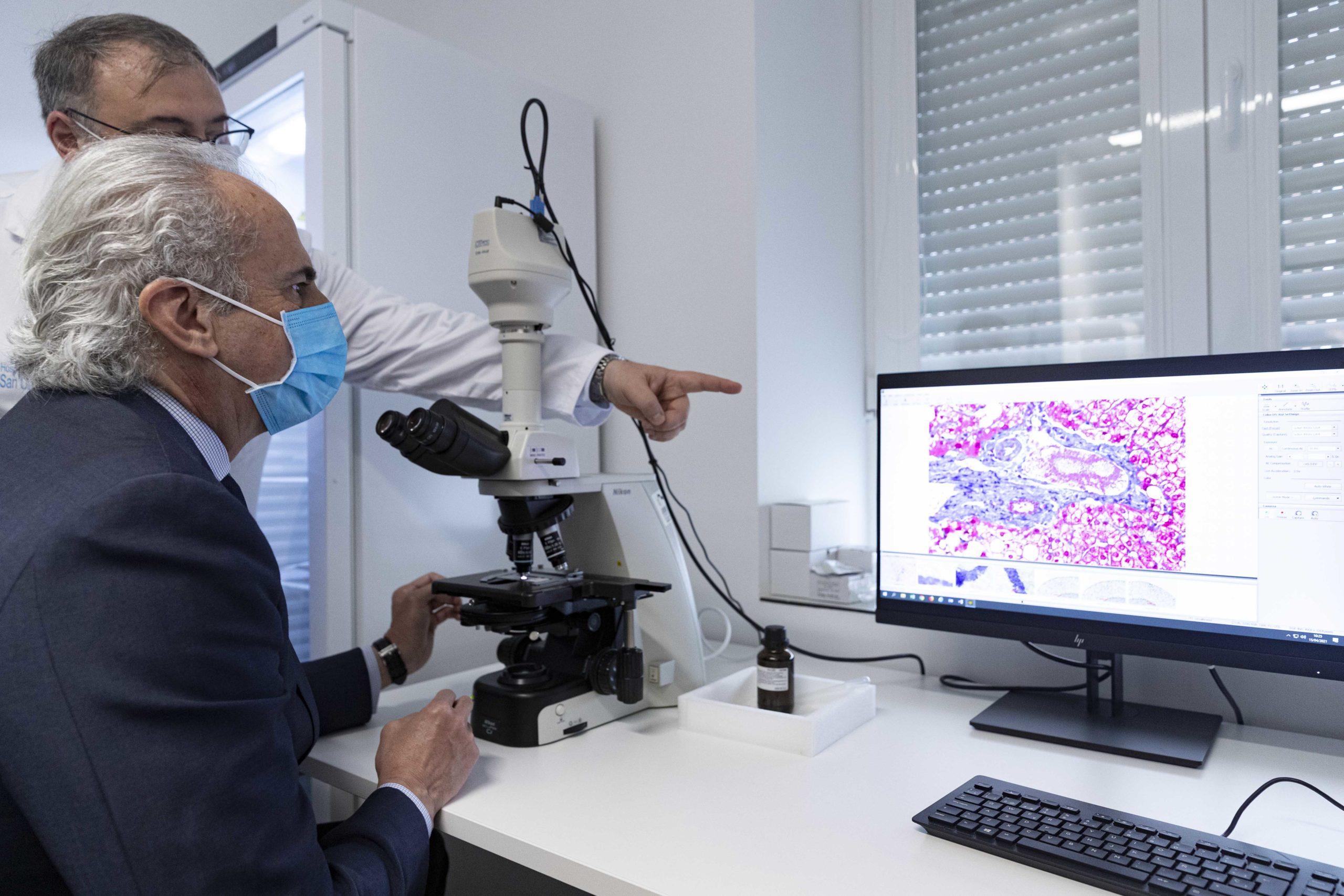 Ruiz Escudero visita el Banco de Tejidos de la Comunidad de Madrid - Gaceta Médica