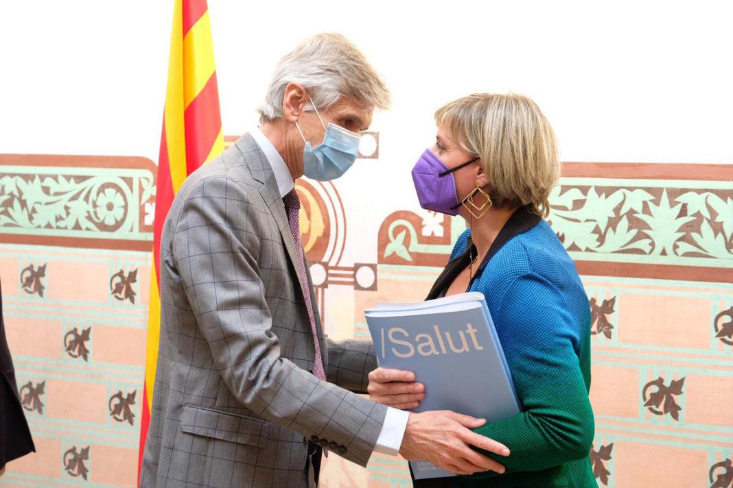Josep Maria Argimon y Alba Vergés