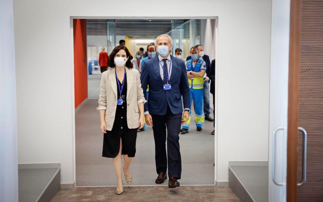 Isabel Diaz Ayuso y Enrique Ruiz Escudero
