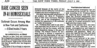 3 de julio de 1981/ The New York Times