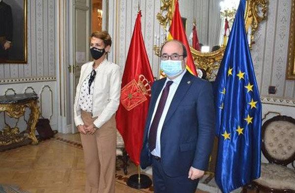 María Chivite y Miquel Iceta