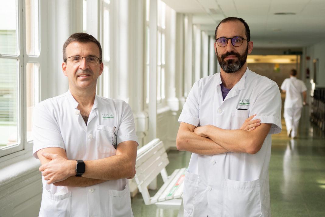 Xavier Forns y Sergio Rodríguez-Tajes