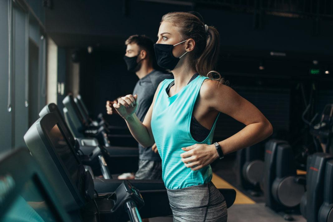 deporte, gimnasio, correr, mascarilla, vitamina D